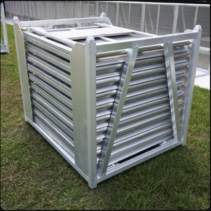 Barricade - temporary fencing - packs flat for easy transport