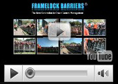 See Framelock Barriers™ Video of product applications